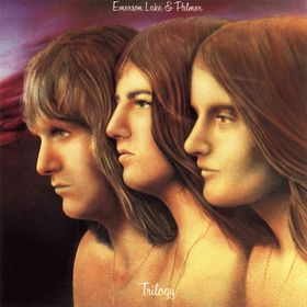 Emerson Lake & Palmer Trilogy cover art