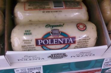 It's Polenta