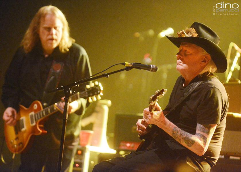 Johnny Winter and Warren Haynes
